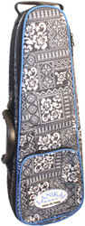 Lanikai Sidekick Tenor Size Ukulele Rigid Frame Hard Bag Tribal Pattern