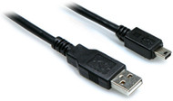 HOSA - USB-203AM - High Speed USB Cable - Type A to Mini B - 3 ft