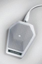 Audio-Technica U851RW UniPoint Cardioid Condenser Boundary Microphone - White