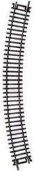 """Atlas HO Scale Code 83 18"""" Radius Curve Bulk Model Train Track (Single Piece)"""
