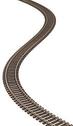"Atlas HO Scale Code 100 36"" Super-Flex Bulk Model Train Track (Single Piece)"