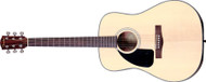 Fender® CD-100 Left-Handed Dreadnought Acoustic Guitar Spruce/Mahongany- Natural