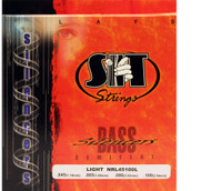 SIT NRL45100L Silencers Semiflat Bass Guitar Strings - Light (45-100)