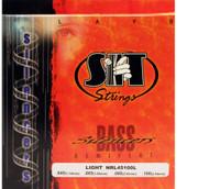 SIT NRL45100L Silencers Semiflat Bass Guitar Strings - Light (45-100) - 6 PACK