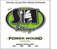 SIT NR4095L Power Wound Nickel Bass Guitar Strings Extra Light (40-95) - 3 PACK