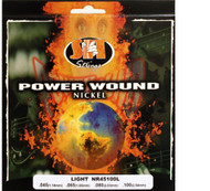 SIT NR45100L Power Wound Nickel Bass Guitar Strings - Light (45-100) - 6 PACK