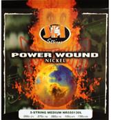 SIT NR550130L Power Wound Nickel Bass Guitar Strings 5-String Medium - 6 PACK