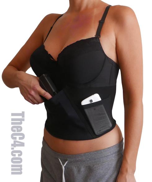 TheC4 holster bra