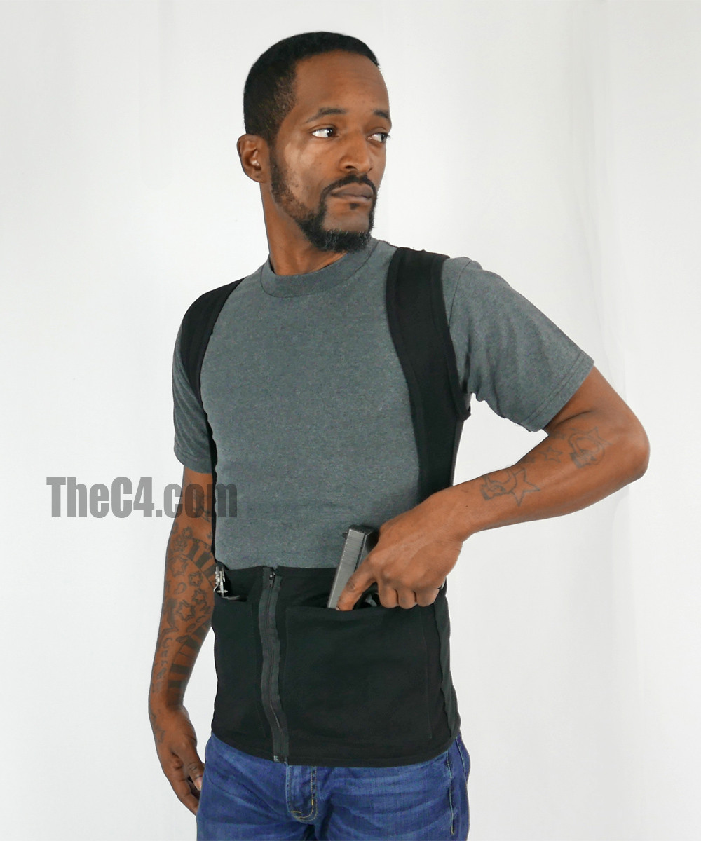3c44068663863 Front Carry Double- Holster Tank  C4