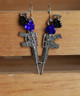 rifle earrings