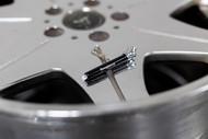 Threepieceus Tire Pressure Gauge Keychain