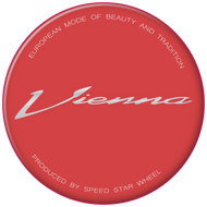 SSR Vienna Small Type (Courage, Schnitt) Reproduction Gel Center Cap Overlay