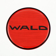 Wald Duchatlet Text Reproduction Gel Center Cap Overlay