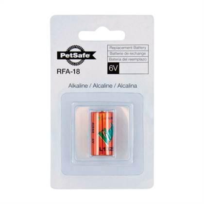 PetSafe 6 Volt Alkaline Battery RFA-18-11