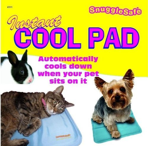 Snugglesafe Instant Cool Pad - a must have for summer!