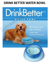 DRINK BETTER WATER BOWL [LOVE A PET/LOVE A DOG]