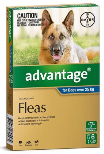 Advantage Flea Treatment For Large Dogs Over 25kg