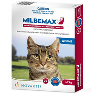 Milbemax Broad-Spectrum Allwormer Tablets for Cats over 2kg