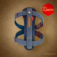 EzyDog Denim Chest Plate Harness