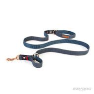Denim Vario 4 leash EzyDog Designer range