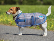 Weatherbeeta Landa Blue Plaid loveadog.com.au