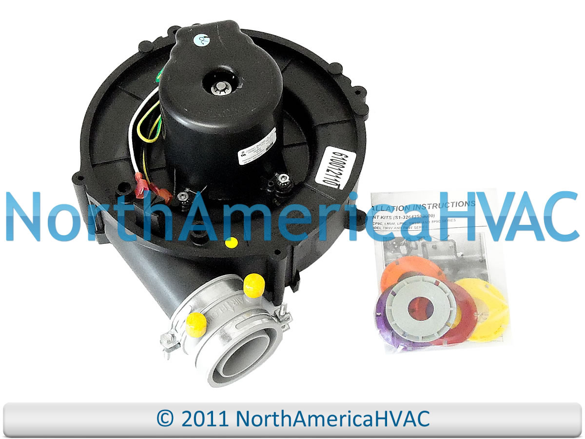 York FASCO Furnace Inducer Motor 70581293 7058-1293