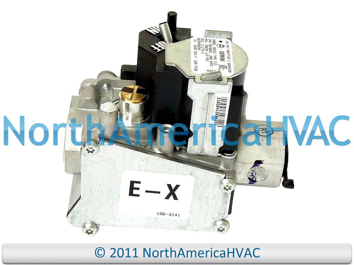 White Rodgers Gemini 36G22 213 Trane Furnace Gas Valve