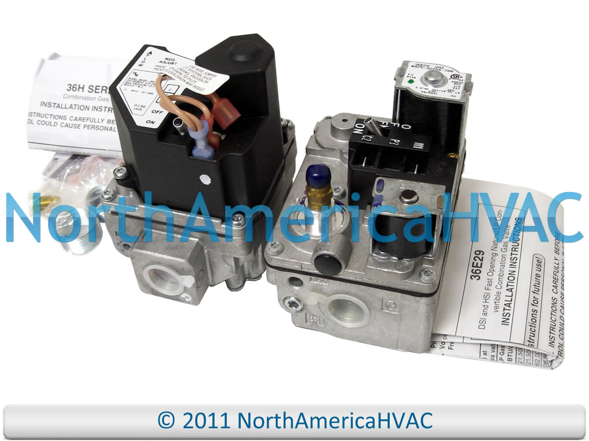 White Rodgers Furnace Gas Valve 36H32304 36H32-304