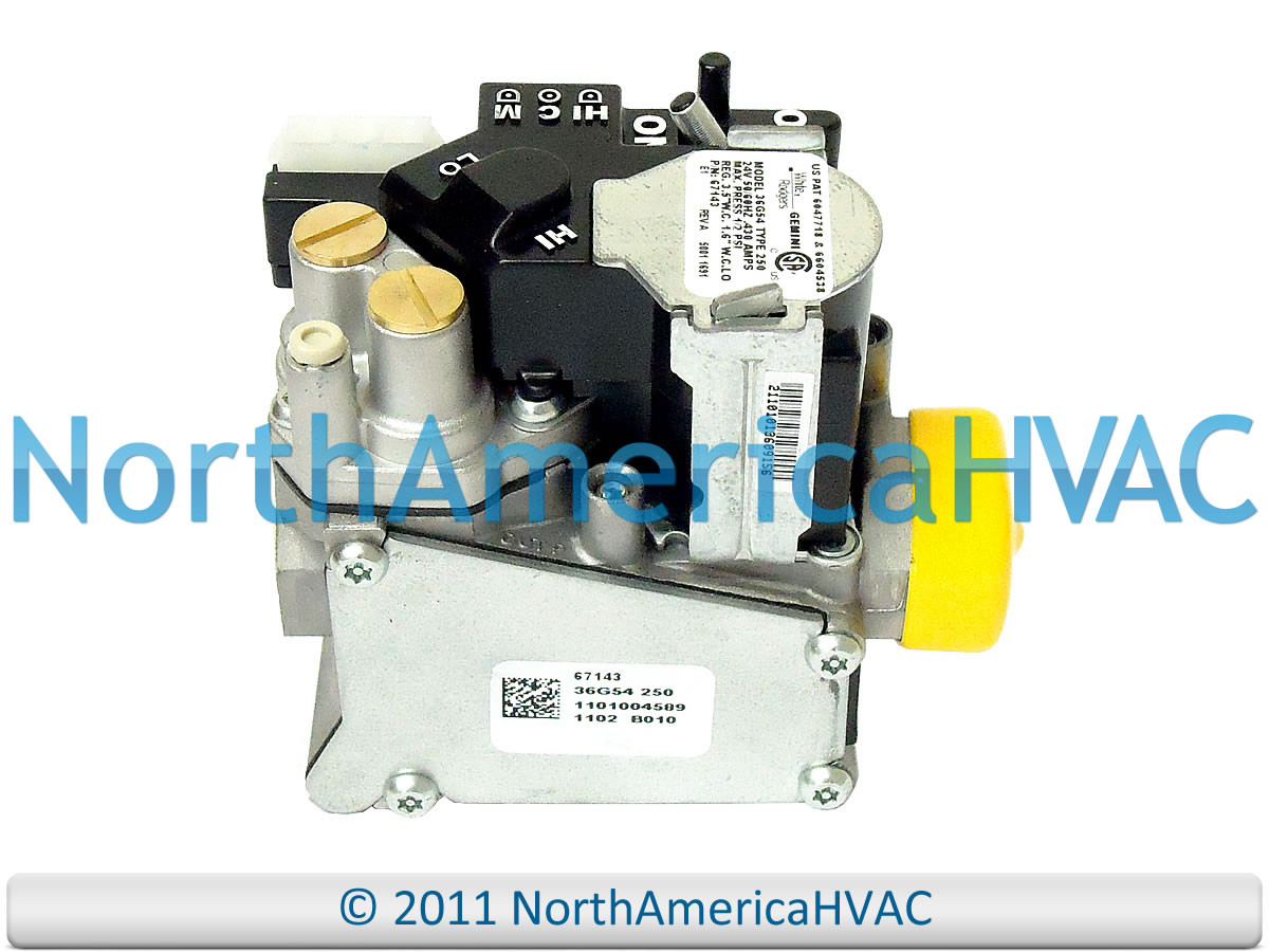 Oem York Luxaire Coleman Furnace Gas Valve 025 44124 000