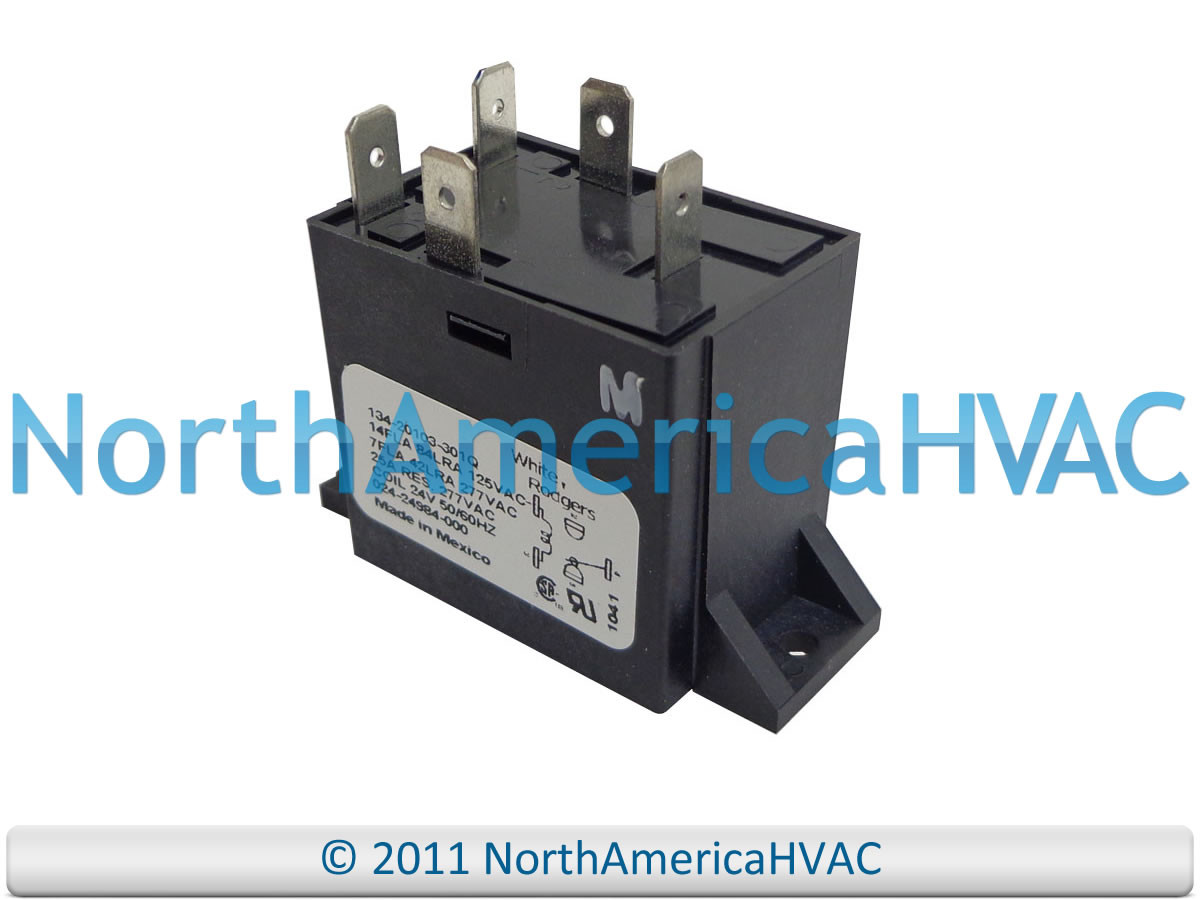 OEM York Coleman Luxaire Furnace Fan Relay 7975-377 7975-3771 8680-435