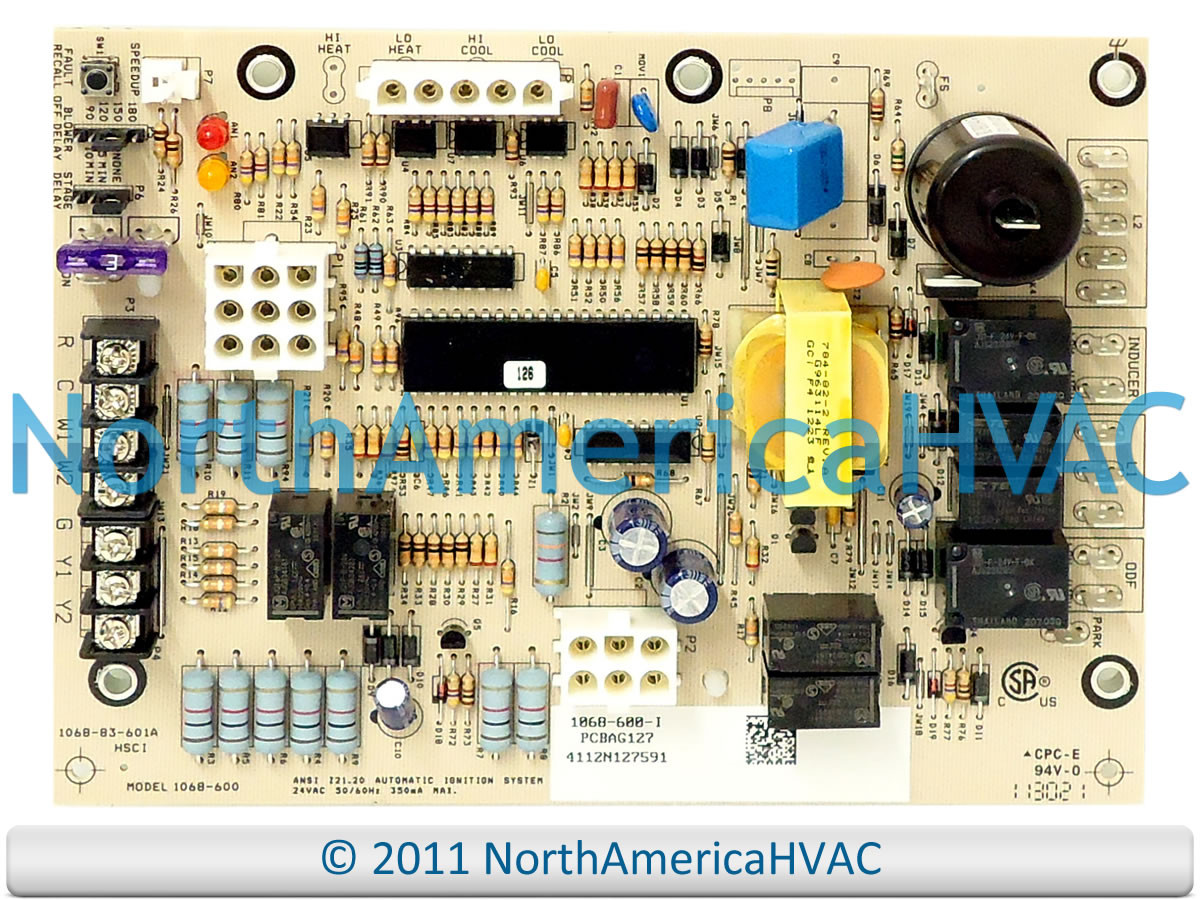 Oem Goodman Janitrol Amana Furnace Control Circuit Board Pcbag100 Replacement Household Boards Pcbag100s