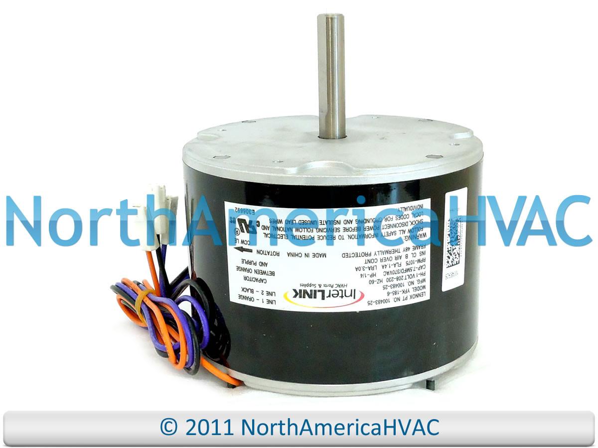 lennox ducane armstrong 1 4 hp fan motor 61w89 61w8901 north rh northamericahvac com