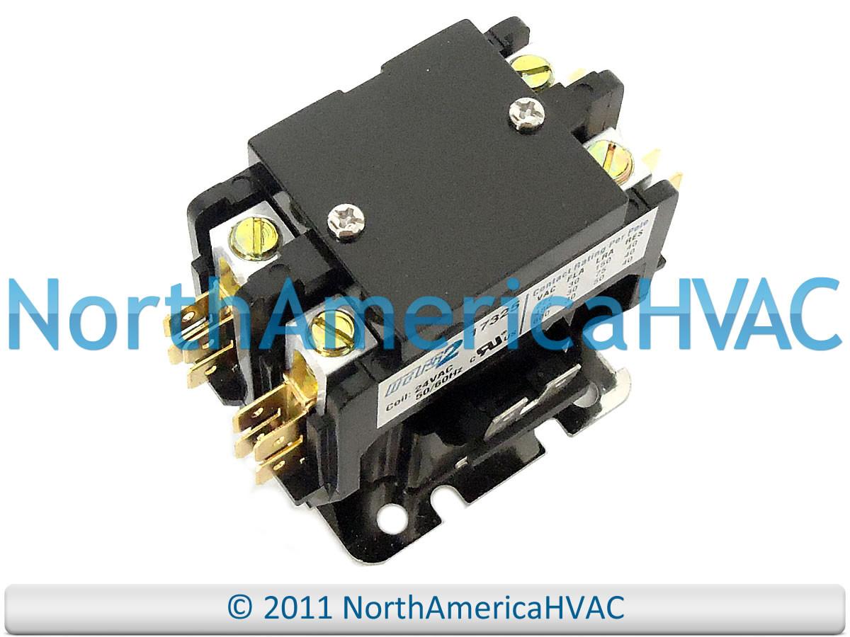 Janitrol Goodman Amana 24 volt 1 Single Pole Contactor Relay B13603