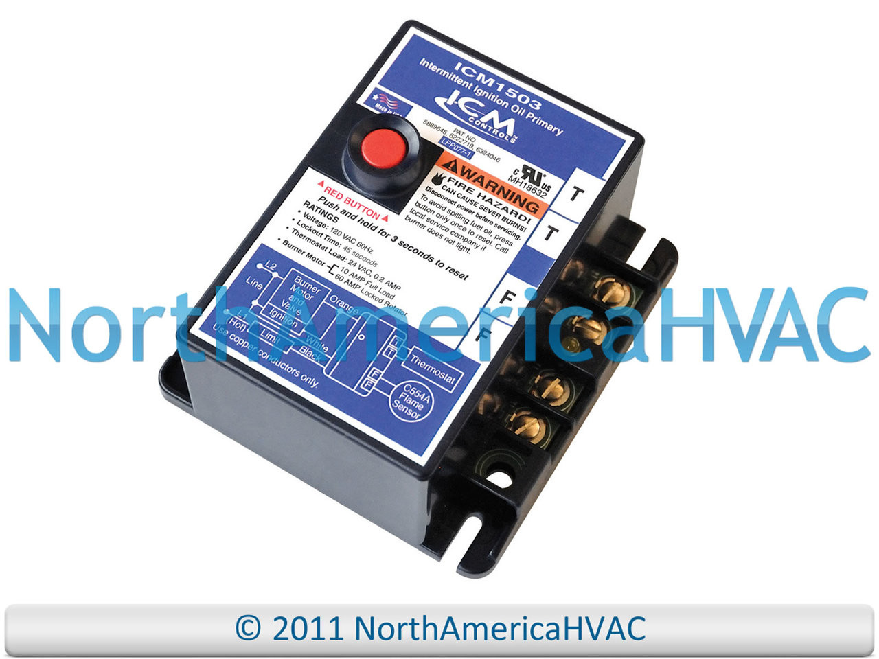 Intertherm Miller Nordyne Control Circuit Board 624284 on