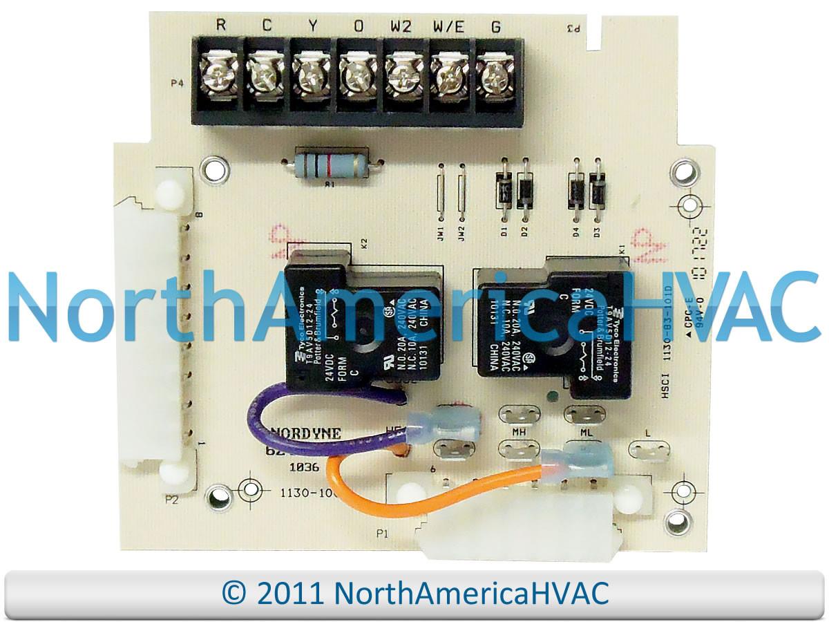 intertherm miller nordyne control circuit board 624625  624625 624625r  6246250