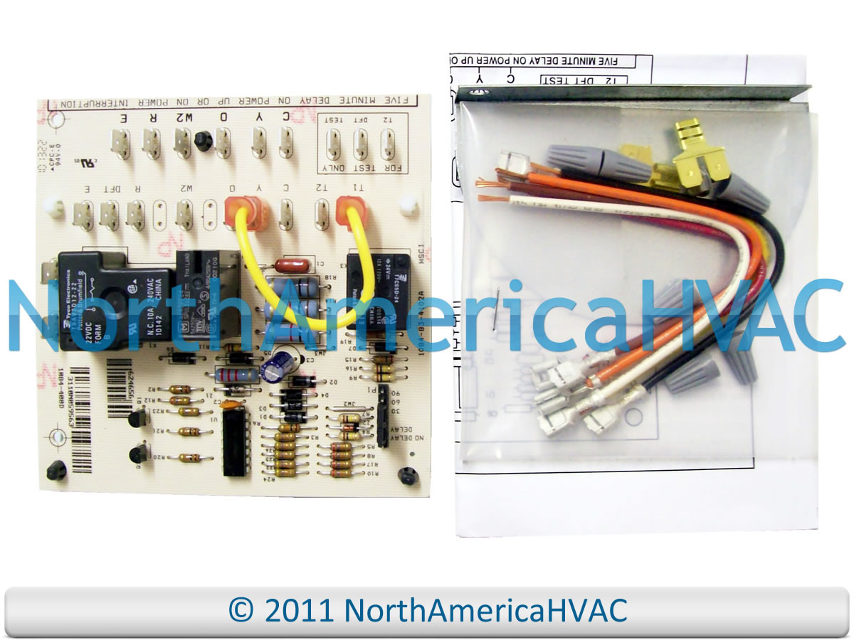 Intertherm Miller Defrost Control Board 917178A 917178 - North ... on