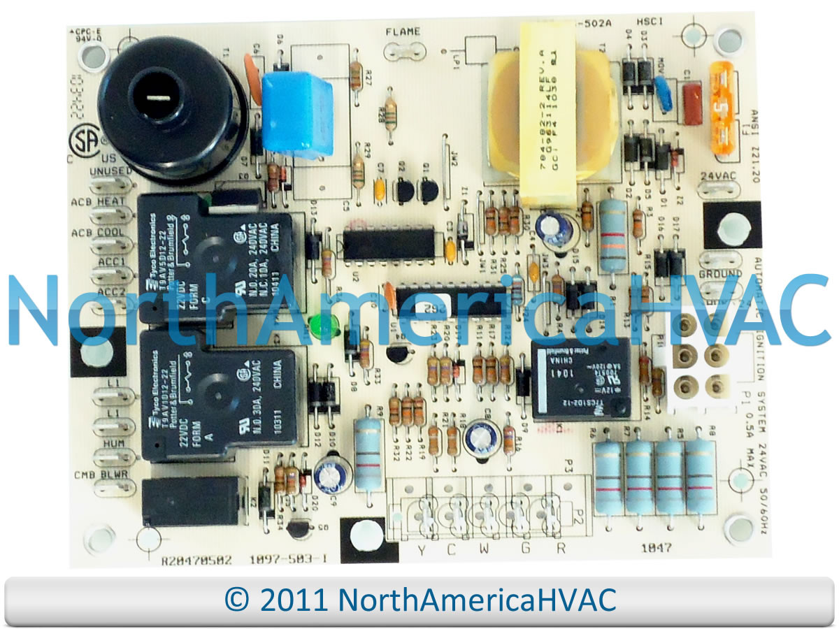 Honeywell Lennox Control Board 1097 83 503a 503 I North Furnace Main Circuit Rheem Ruud Heat