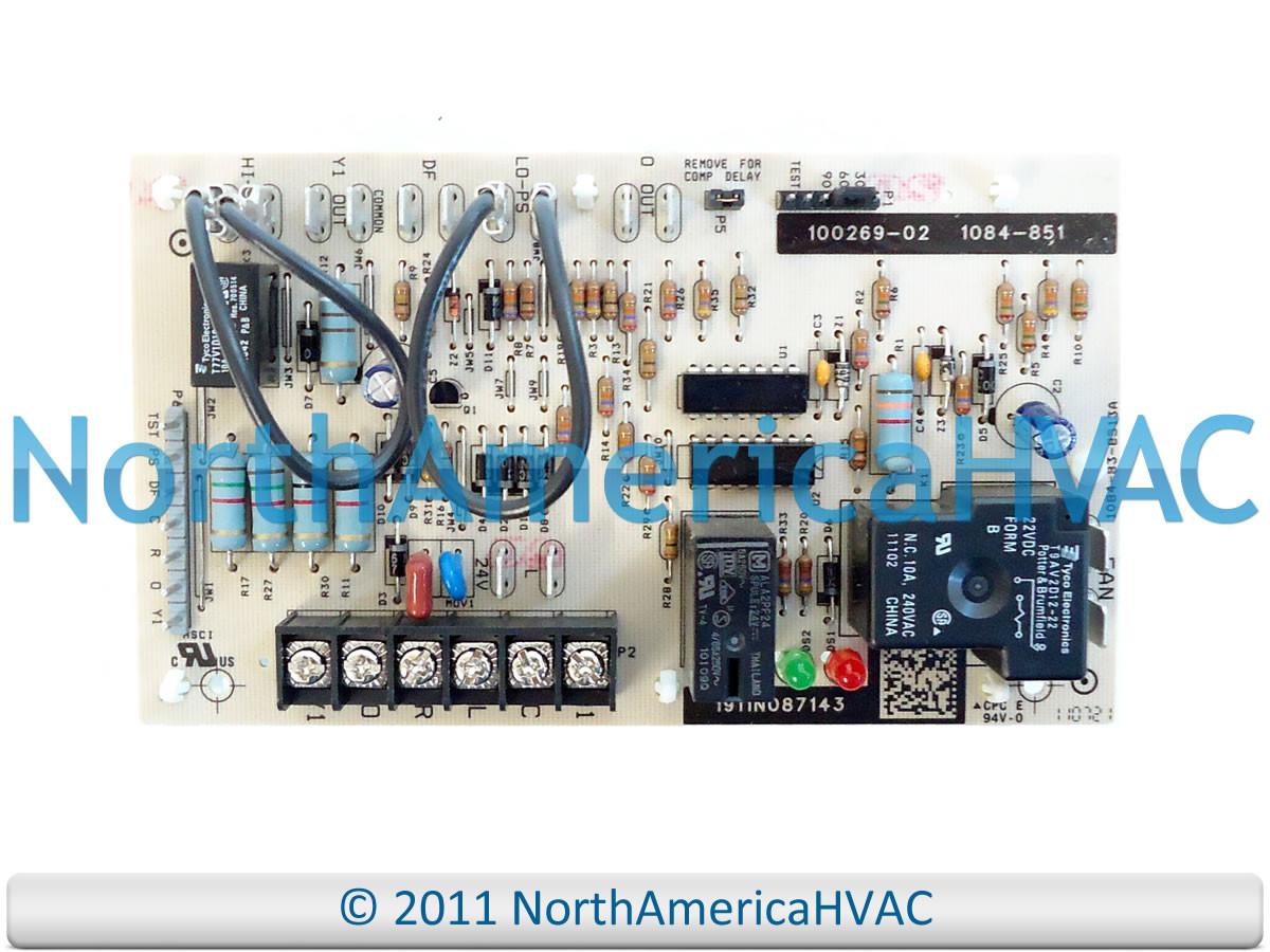 honeywell lennox armstrong ducane defrost control board 1084 851