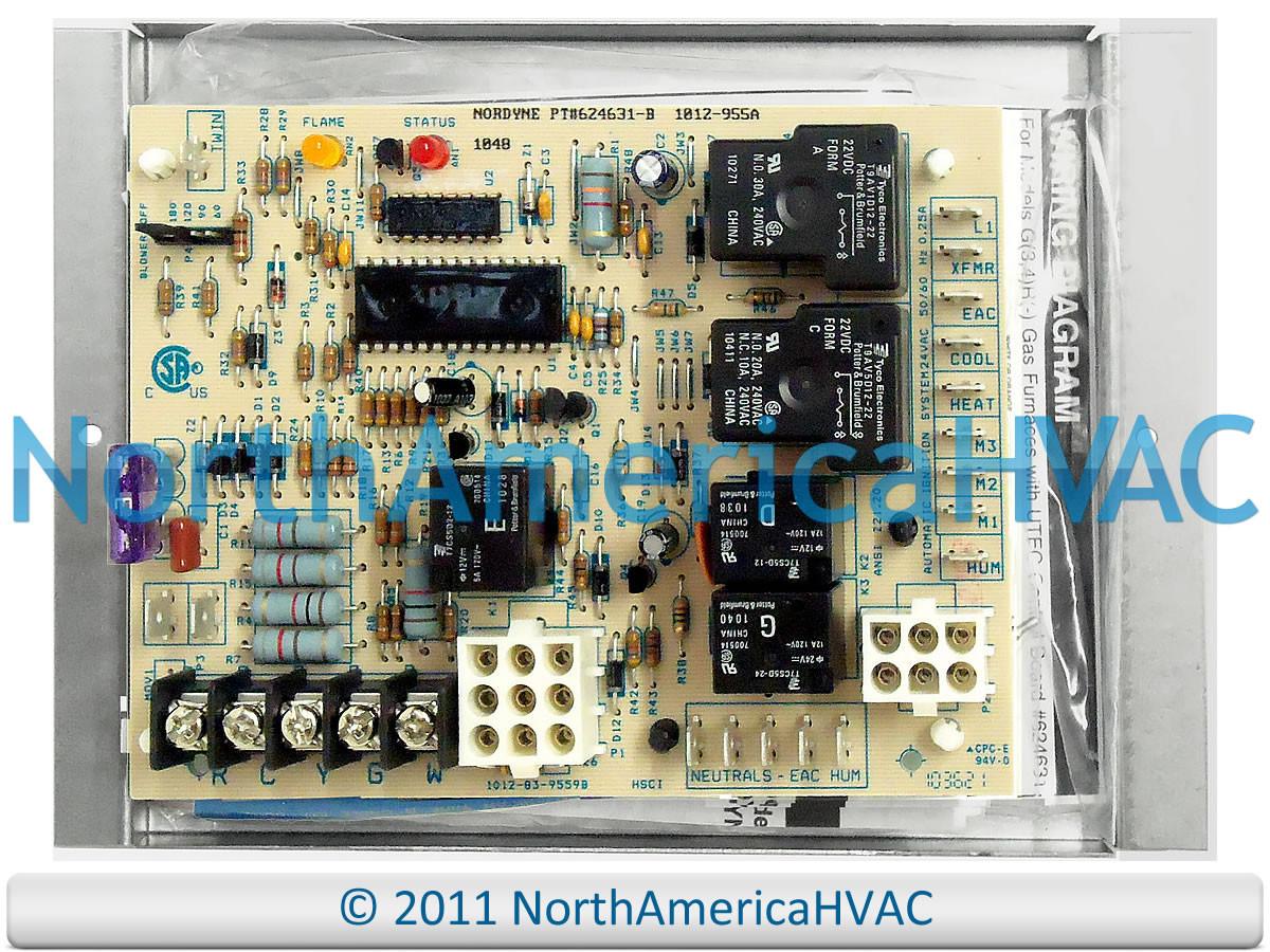 Honeywell Intertherm Nordyne Control Board 1012-955A on