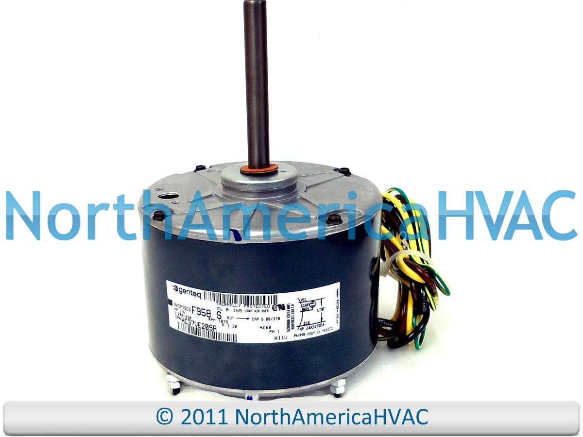 Carrier Bryant Payne Fan Motor 1 6 Hp Hc37ve209 Condenser