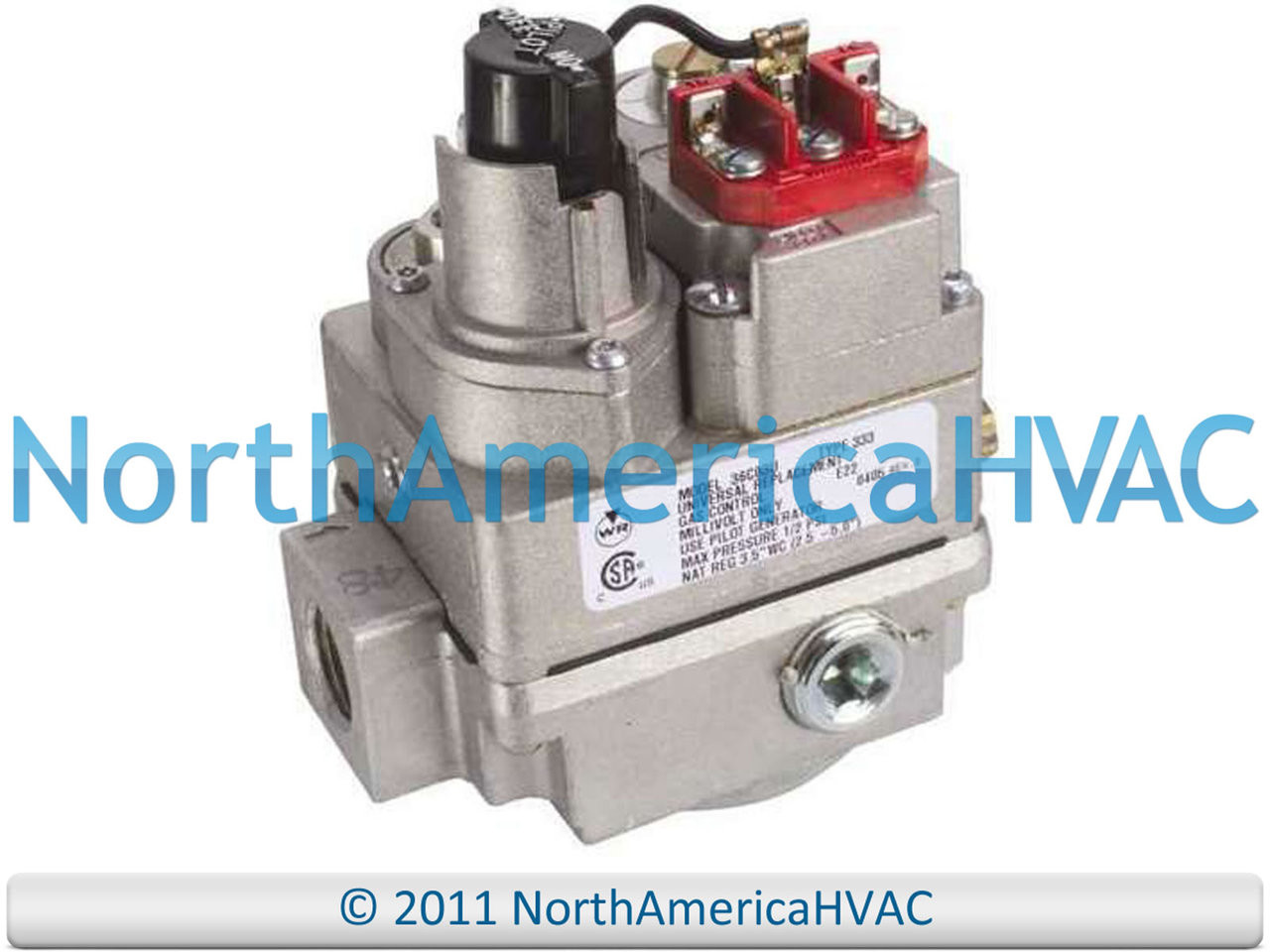 Honeywell Wr Millivolt Gas Valve Vs8138a1016 Vs8138a 1016