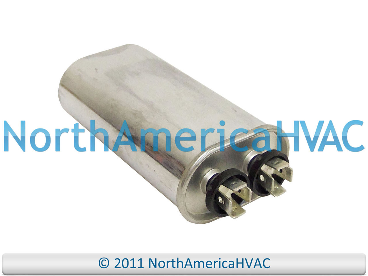 GE Genteq 12 5 uf 370 / 440 Volt Oval Capacitor Fits 97F9003 Z97F9003