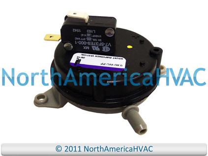 Honeywell Lennox Furnace Vacuum Vent Air Pressure Switch