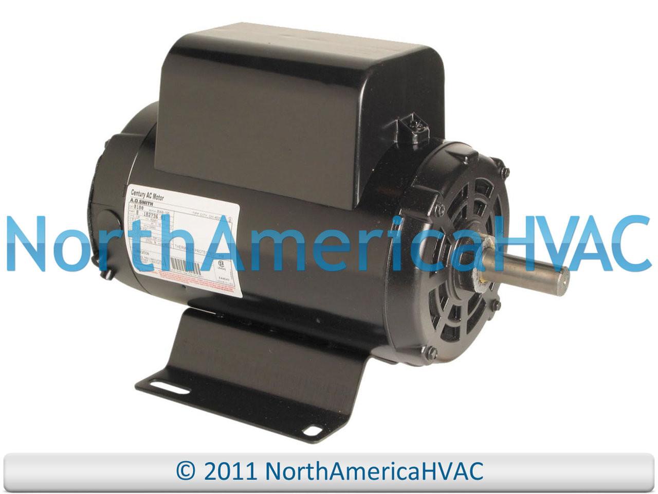 A O Smith Century Air Compressor Motor T63CWCFE-1282 8-177946-01 177946  54421193
