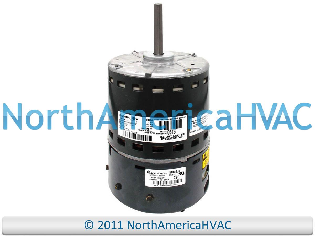 Trane American Standard Replacement 3/4 HP Furnace ECM Blower Motor  MOT09675 MOT9675