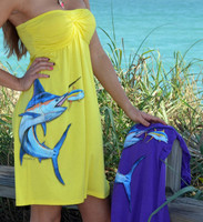Tube-Top Marlin Dress