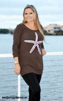 SMALL and LARGE  only in stock- Starfish Sweater Dress