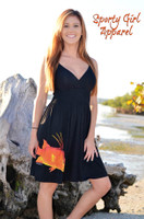 Women's Black Hogfish Dress