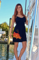 BLACK ONESIZE fits some hogfish with Straps dress