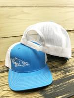 Sky Blue SNOOK  Mesh Back  adjustable hat